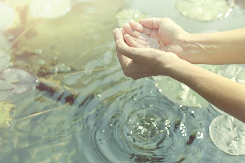 Pases mágicos del agua